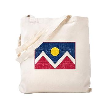 CafePress - Bandera de Denver - Bolsa de lona natural, bolsa ...