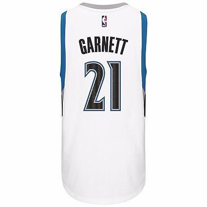 brand new c9a77 46c2a Amazon.com : adidas Minnesota Timberwolves Kevin Garnett ...