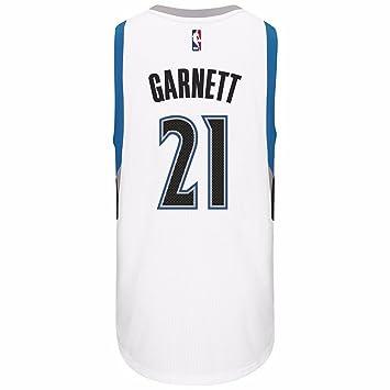 8e9747097 Kevin Garnett Minnesota Timberwolves NBA Adidas White Official Climacool  Home Swingman Jersey For Men (3XL