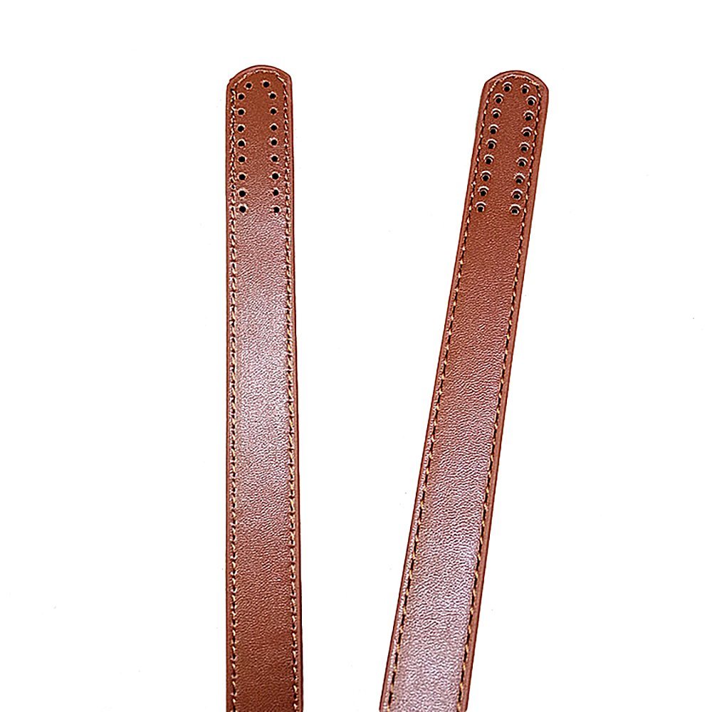 1 Pair DIY Leather Purse Bag Handle Straps Replacement for Bag Making DIY