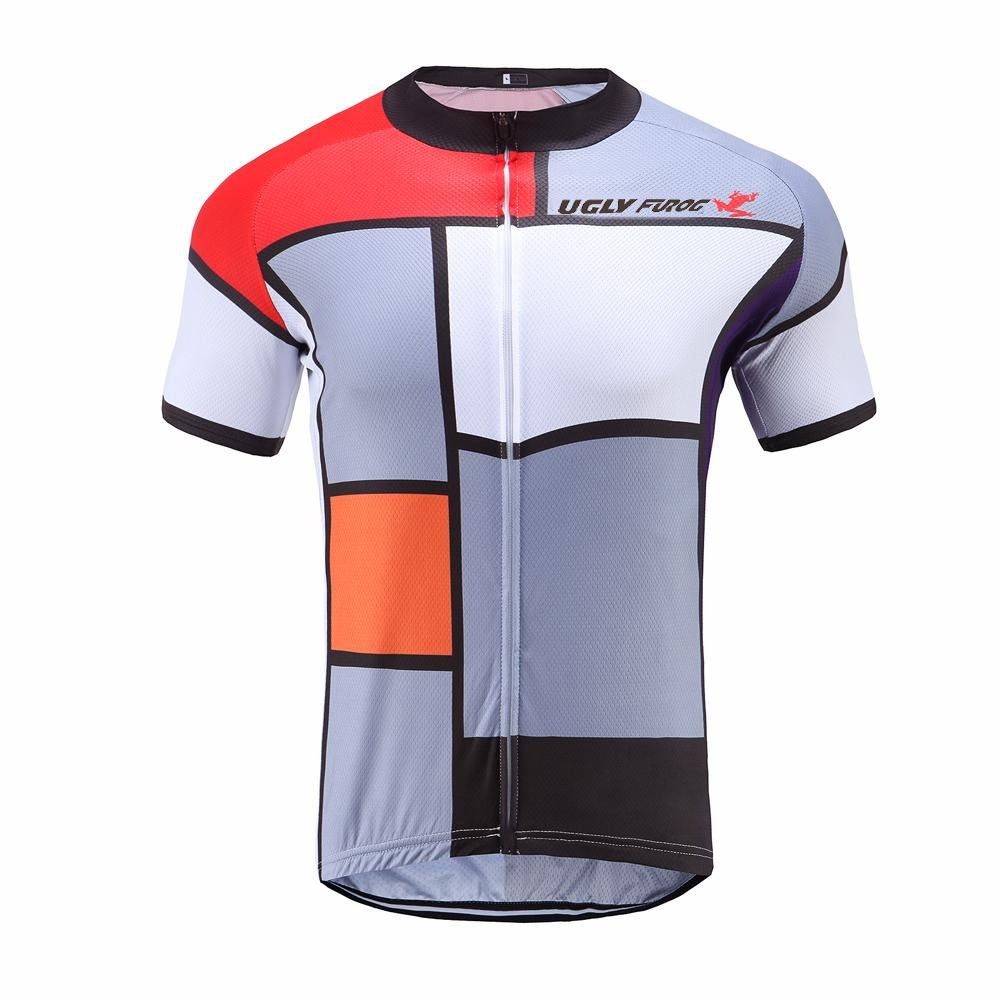 Uglyfrog Refraction Jersey 2017 New Mens Summer Outdoor Sports Fashion  Short Sleeve Cycling Jerseys Bike Shirts 3e8db3087