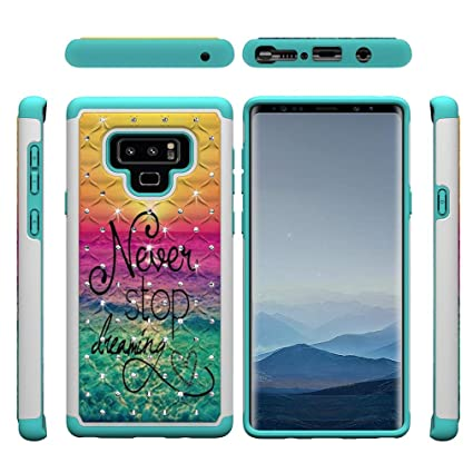 Amazon.com: Galaxy Note9 Case,Ultra Slim Rugged 2 in 1 ...