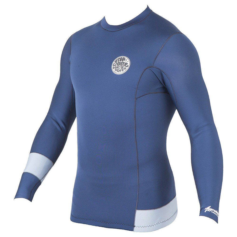 Rip Curl Aggrolite 1.5mm LS Jacket Mens Wetsuit Top in Navy sz:M by Rip Curl
