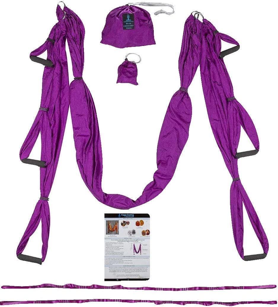 Trapeze for Yoga – Yoga Swing – Yoga Hammock – Aerial Yoga Hammock