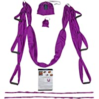 Trapeze for Yoga - Yoga Swing - Yoga Hammock - Aerial Yoga Hammock