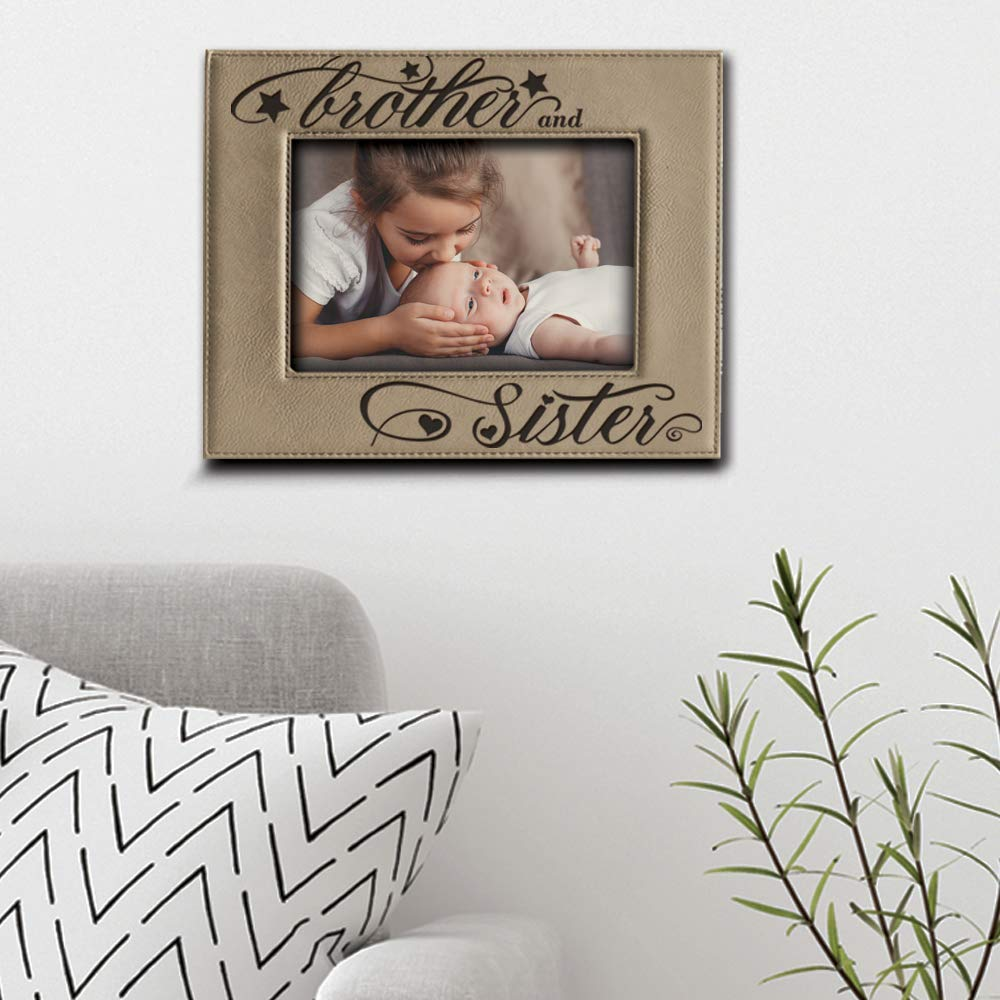 Amazon.com - BELLA BUSTA- Brother and Sister Photo Frame- Sibling ...