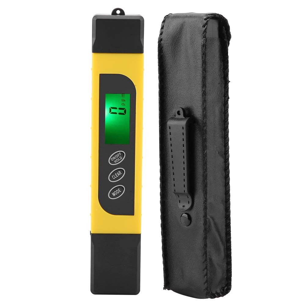 Digital Water Quality Tester,3 in 1 LCD Display Digital Water Quality Tester,0-4999PPM 0-99℃ Testing Range Water Quality Tester, by Jectse