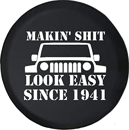 Best Off Road Jeep Tires >> Amazon Com Jeep Tire Cover For Spare Tire Jeep Wrangler Jk