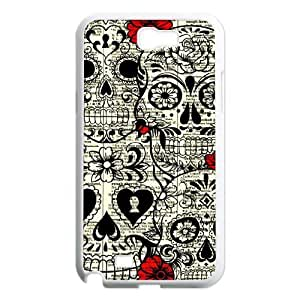 Skull Classic Personalized Phone Case for Samsung Galaxy Note 2 N7100,custom cover case ygtg556641