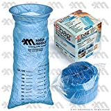 Blue Emesis Bag 40 Oz. (1000ml) - 12 Per Case