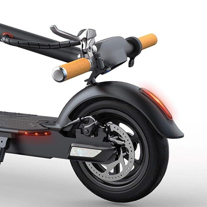 bbuho Pavilion Negro - Patinete ELÉCTRICO Motor eléctrico: 250 W Velocidad Máxima: 24 km/h* Autonomía: 15-22 Km* Batería: 7500 mAh Rueda 8,5″ tubeless