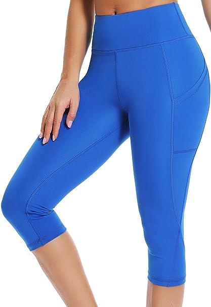 FITTOO Mallas Leggings Mujer Pantalones Deportivos Yoga Alta Cintura Elásticos y Transpirables 2050