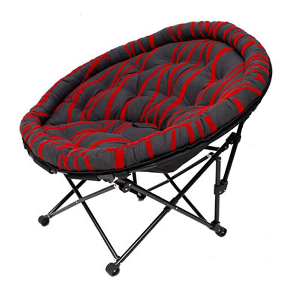 Bodenstuhl, Klappstuhl Lazy Sofa Einzelsesselcouch, einfach zu verstauen und mit kurzem Plüschstoff zu tragen (Farbe : Style 2)
