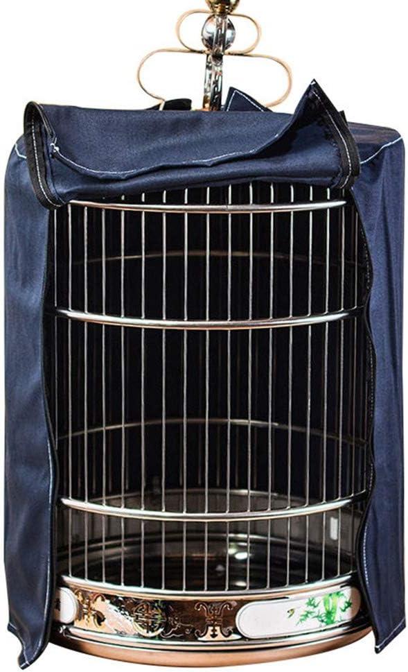 ZZX Funda Jaula de pájaros, Cobertor para Jaula de Pájaros Falda de Semillas Suave y fácil de Limpiar Good Night Cubierta de Jaula de pájaros, Atrapador de Semilla,L