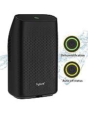 Hysure - Deumidificatore elettrico da 2000 ml, per cantina, appartamento, garage, roulotte, nero