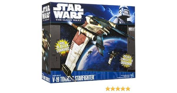Star Wars Clone Wars Starfighter Vehicle V19 Torrent Fighter
