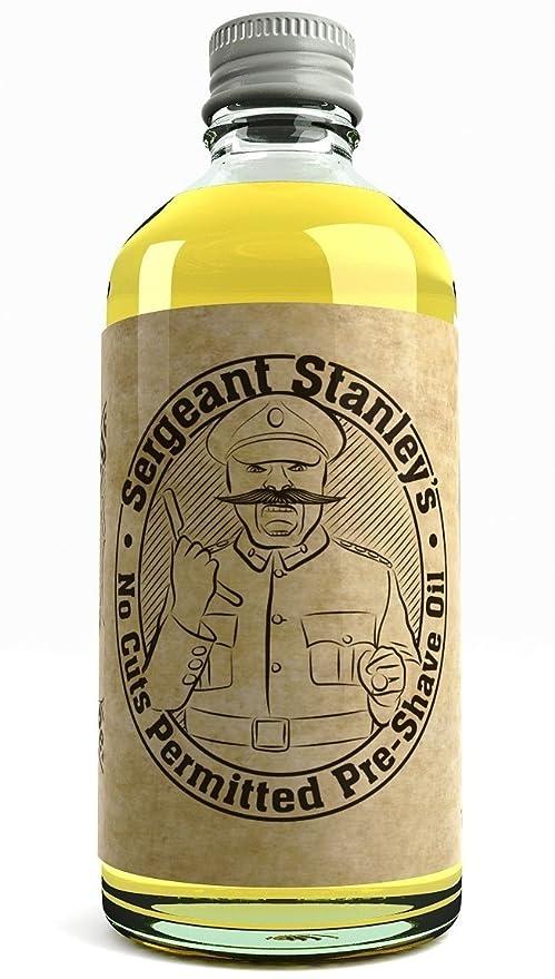 Aceite Preafeitado Sergeant Stanleys Sin Cortes Reino Unido Hecho Con Ingredientes Naturales Y Orgánicos 100 milliliter
