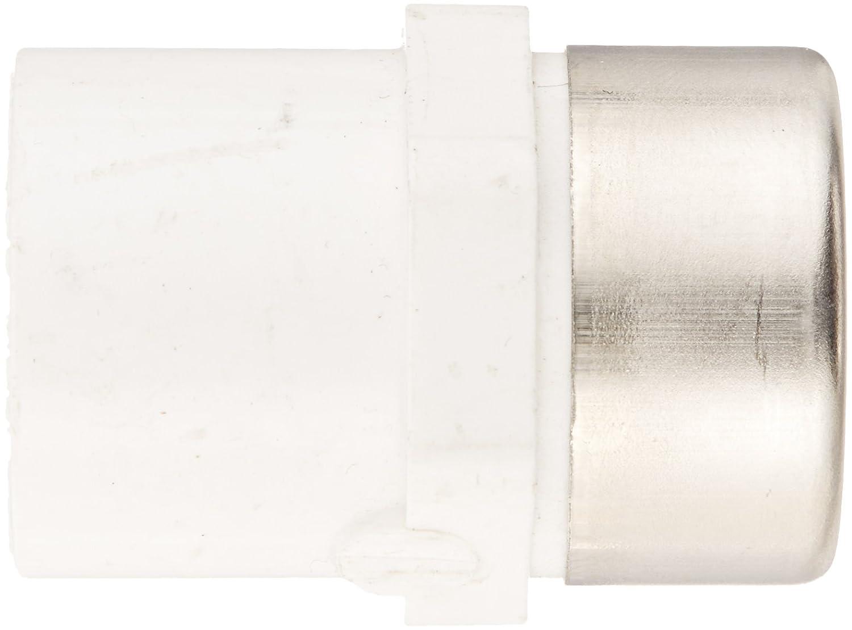 Spears 435-SR Series PVC Pipe Fitting Schedule 40 1//4 Socket x 1//4 Steel Reinforced NPT Female Adapter