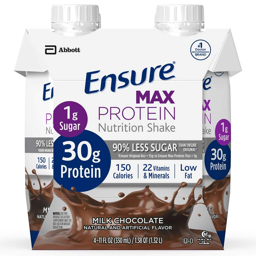 Ensure Max Protein Nutritional Shake - Chocolate (Pack of 6)