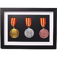 Massief houten medaille doos,Houten vitrinekast voor medailles en insignes van eer,Marathon medaille opbergdoos,Oorlog…
