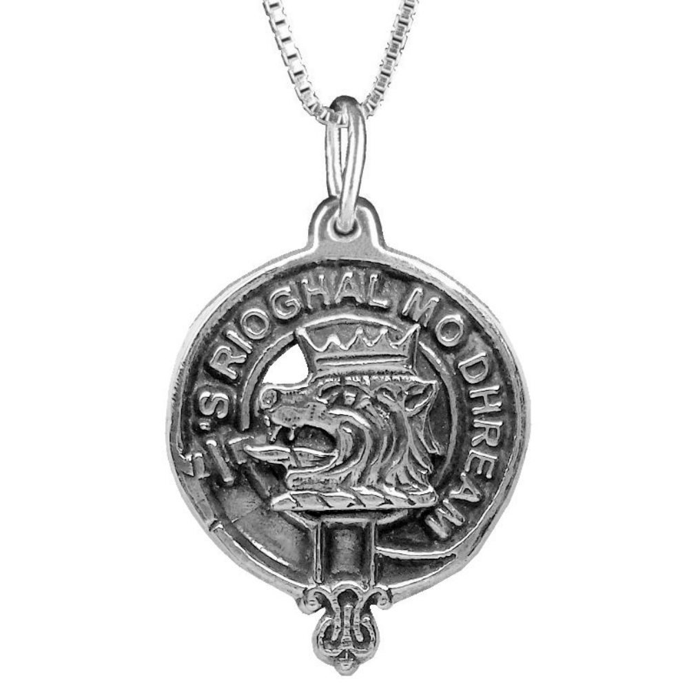 MacGregor Clan Crest Scottish Pendant