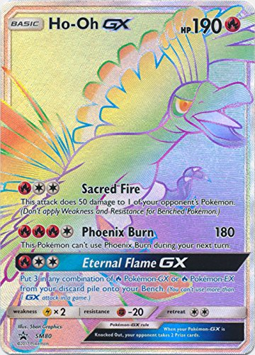 Ho-Oh GX - SM80 - SM Black Star Promos from Pokemon