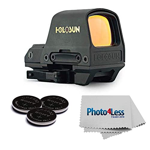 HOLOSUN - HS510C MOA Open Reflex Circle Red Dot Sight