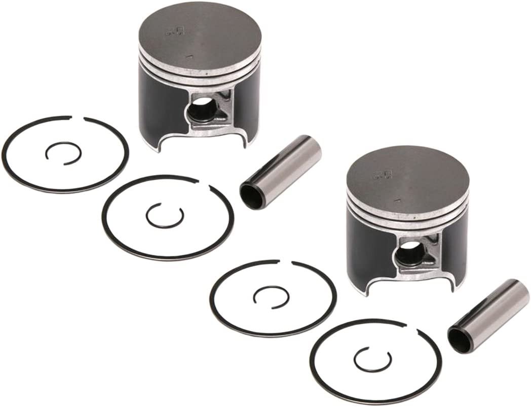 2 SPI Piston Kits 2000-2005 Polaris 600 XC SP Standard Bore 77.25mm
