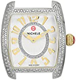 MICHELE Women's 'Urban Mini' Swiss Quartz Stainless Steel and Diamon Dress Watch(Model: MW02A01D1991)