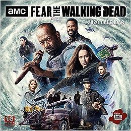 2020 Walking Dead Calendar Fear the Walking Dead   Amc 2020 Calendar: Sellers Publishing Inc