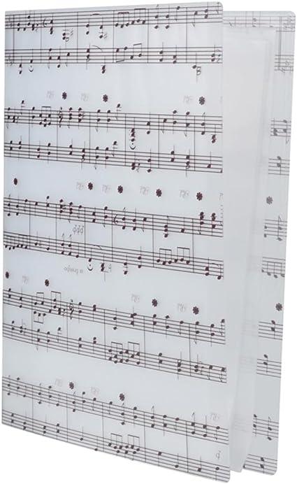 Partituras Carpetas Documento Papeles Archivador Amante de Músicas ...