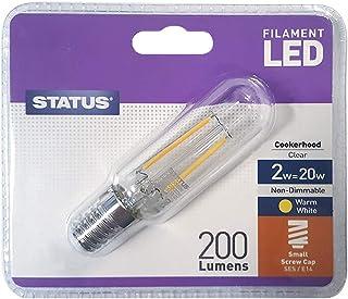 SPARES2GO Plastic Light Diffuser for Hygena Cooker Hood 387mm