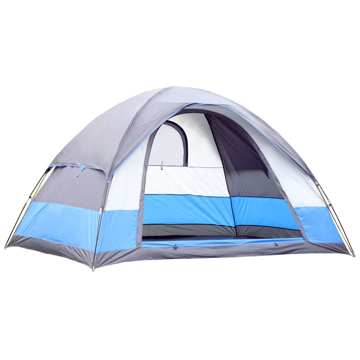 Water Resistant 5 Person 3-Season Lightweight Family Dome Tent for Camping 6923669704383   eBay