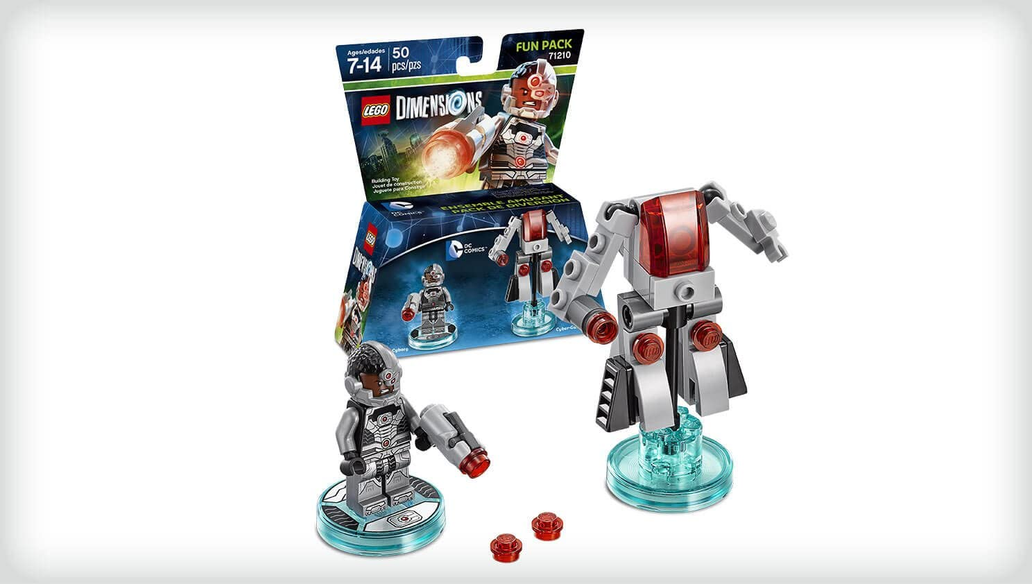 Warner Bros Interactive Spain Lego Dimensions - Cyborg Fun Pack: Amazon.es: Videojuegos