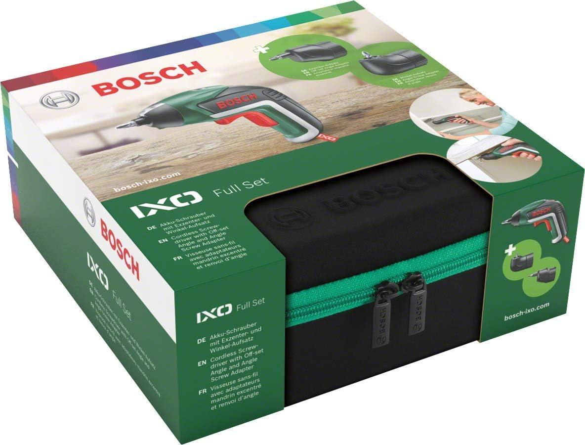 Amazon.com: Bosch - Batería recargable Schrauber IXO V Set ...
