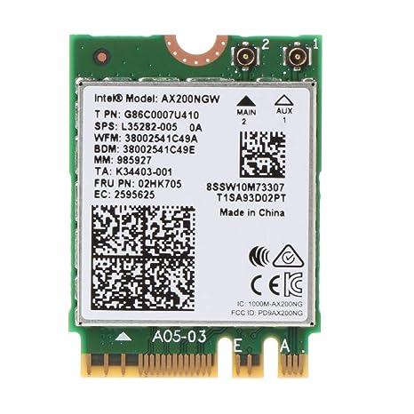 Chg Wi-Fi 6 AX200 802.11ax Dual Band MU-MIMO WiFi WLAN Tarjeta de ...