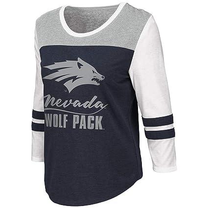 wholesale dealer 9e85c db07e Amazon.com : Colosseum Womens Nevada Wolf Pack Palermo 3/4 ...