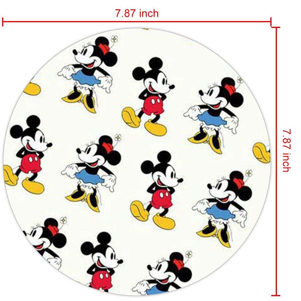 Amazon Co Jp ディズニー コレクション ラウンドマウスパッド 壁紙