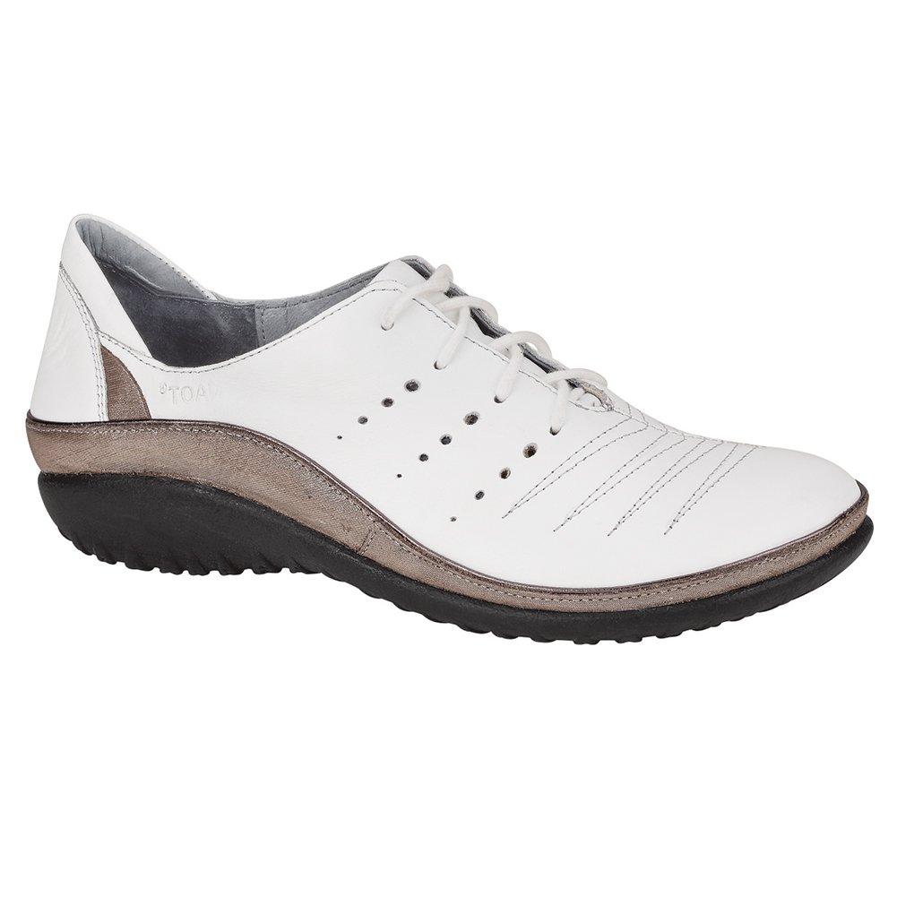 NAOT Kumara Koru Women Flats Shoes B01MFB2S4T 37 M EU|White Lthr/Silver Threads Lthr