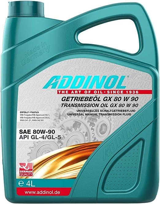 Addinol GetriebeÖl Gx 80w 90 4 Liter Auto