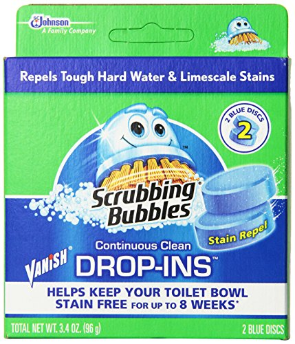 Vanish Bowl - Vanish Drop-Ins Automatic Toilet Bowl Cleaner - Blue, 1.70 Ounce (Pack of 12)