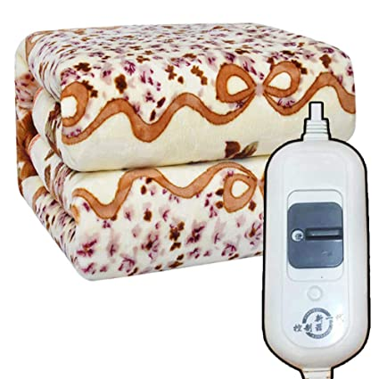 Manta eléctrica, doble, control doble, regulación de la temperatura, protección impermeable contra