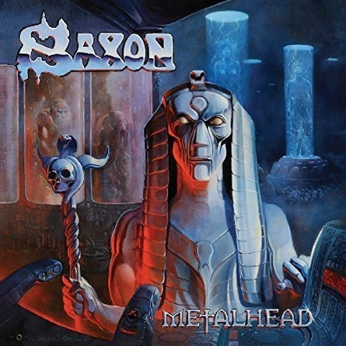 Vinilo : Saxon - Metalhead (Colored Vinyl, United Kingdom - Import)