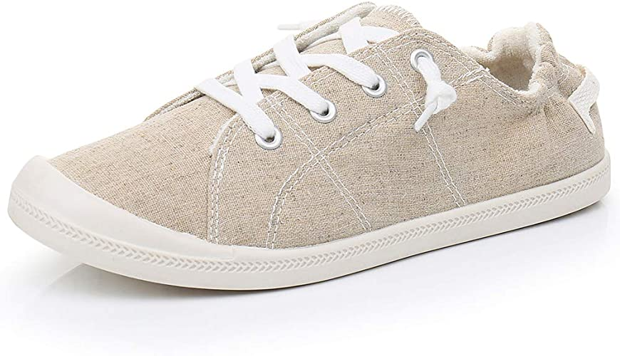 big discount 100% top quality classic fit Amazon.com | Real Fancy Women's Comfort Slip-On Canvas Sneaker ...