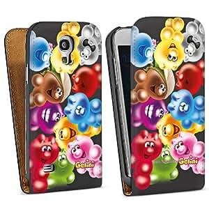 Diseño para Samsung Galaxy S4 Mini I9195 DesignTasche Downflip black - Gelini - Allstars Black