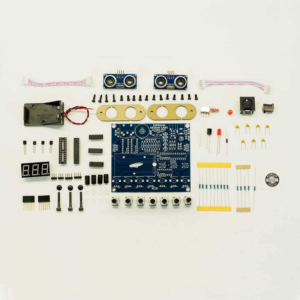 Altura MkII Theremin MIDI Controller//Arpeggiator//Sequencer
