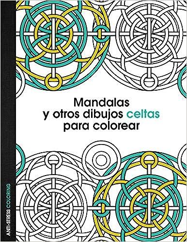 Book Mandalas y otros dibujos celtas para colorear