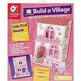 Classic Build A Village Pink House Building Kit