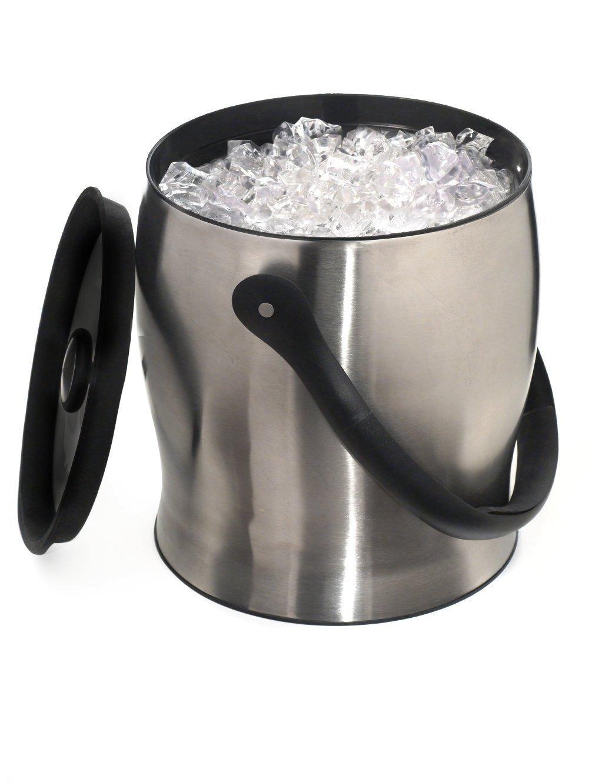 Rabbit W4710 Ice Bucket, 9-Inch, Metallic by Rabbit
