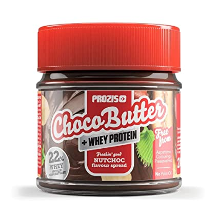 Prozis Whey Choco Butter 200 g NutChoc NutChoc Adopta un estilo de vida más saludable,